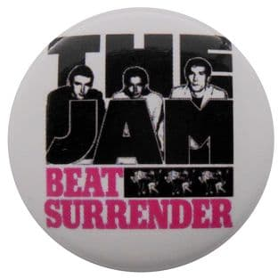 The Jam - 'Beat Surrender' Button Badge