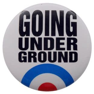The Jam - 'Going Under Ground' Button Badge