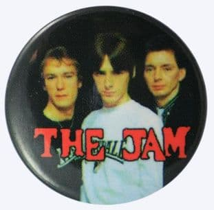 The Jam - 'Group Black' Button Badge