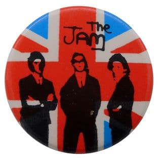 The Jam - 'Group Union Jack' Button Badge