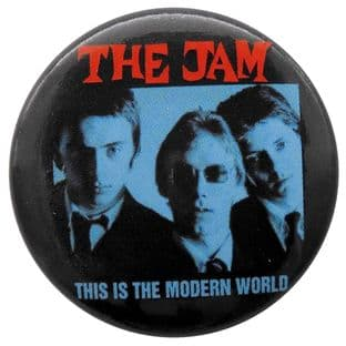The Jam - 'This is the Modern World' Button Badge