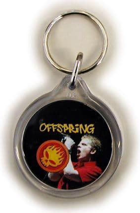 The Offspring - 'Dexter Holland' Round Keyring