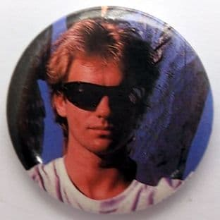 The Police - 'Sting' 32mm Badge
