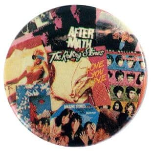 The Rolling Stones - 'Aftermath' Button Badge
