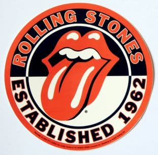 The Rolling Stones - 'Est 1962' Sticker