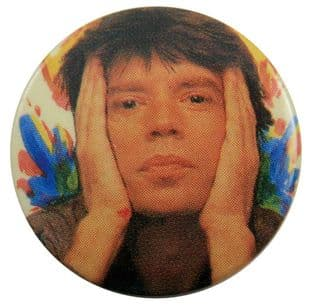 The Rolling Stones - 'Mick Hands' Button Badge