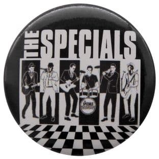 The Specials - 'Band Members' Button Badge