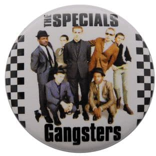 The Specials - 'Gangsters' Button Badge
