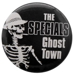 The Specials - 'Ghost Town' Button Badge