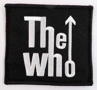 The Who - 'Logo' Sew-on Embroidered Patch