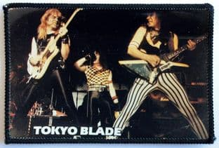 Tokyo Blade - 'On Stage' Photo Patch