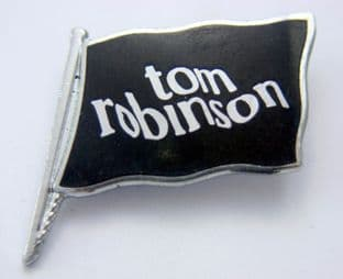 Tom Robinson - 'Flag' Vintage Enamel Badge