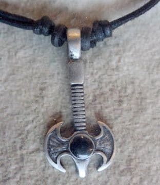Tribal Wear 'Axe' Pendant