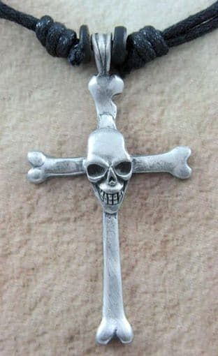 Tribal Wear 'Bones Cross' Pendant