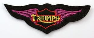 Triumph - 'Wings' Embroidered Patch