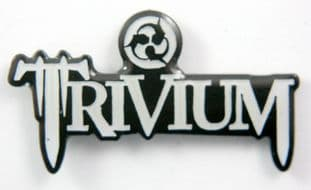 Trivium - 'Logo' Enamel Pin Badge