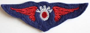 Vespa - Wings Embroidered Patch