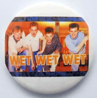 Wet Wet Wet - 'Group' Badge Style Mirror