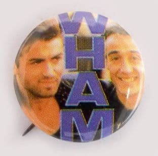Wham! - 'Group' Small Button Badge