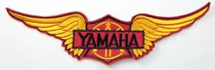 Yamaha - 'Wings' Large Embroidered Patch