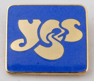 Yes - 'Logo' Blue Enamel Badge