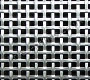 Interwoven Square Effect Silver Grille Anodised Aluminium Sheet 1000mm x 660mm x 1.5mm