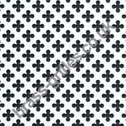 Small Club 6mm White Grille Powder Coated Aluminium Decorative Sheet 1000mm x 660mm x 1mm