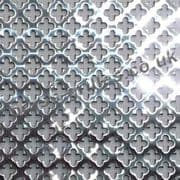 Small Clubs 6mm Polished Stainless Steel Decorative Grille Sheet 2000mm x 1000mm x 1mm