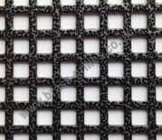 Small Squares 6mm Grille Pewter Powder Coated Steel Sheet 2000mm x 1000mm x 1mm