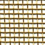 Brass Large Woven Wire Mesh Cut to Size