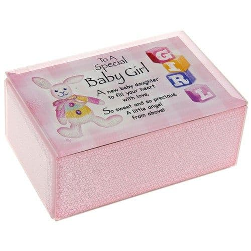 Baby Girl Musical Box. Shudehill 45236