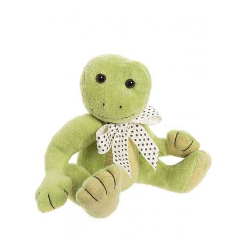 Gone Fishing, Charlie bear Frog with travel bag.