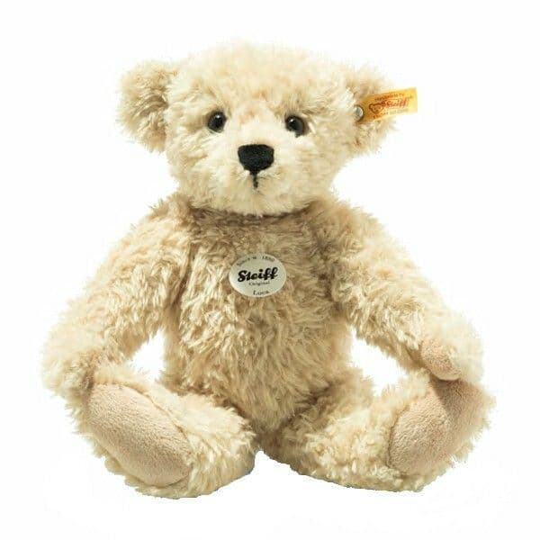 Luca, jointed 30 cm  plush bear by Steiff. 023019