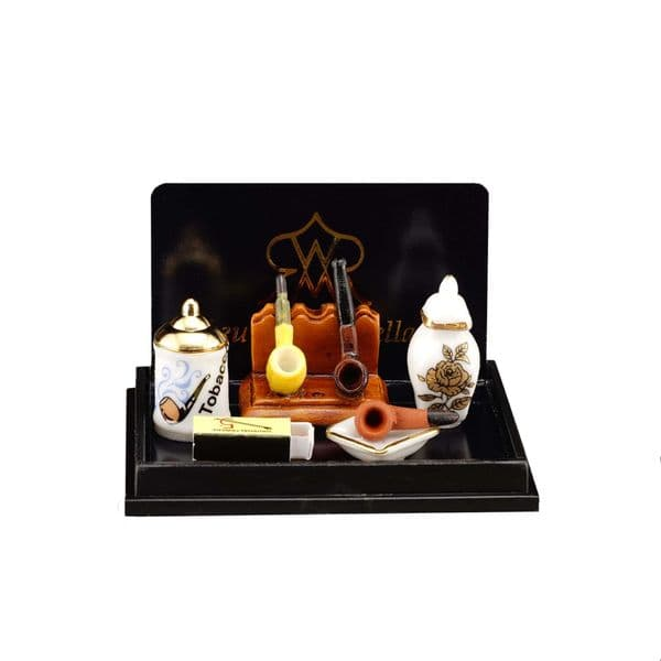 Reutter, 12th scale smoking set. 16125