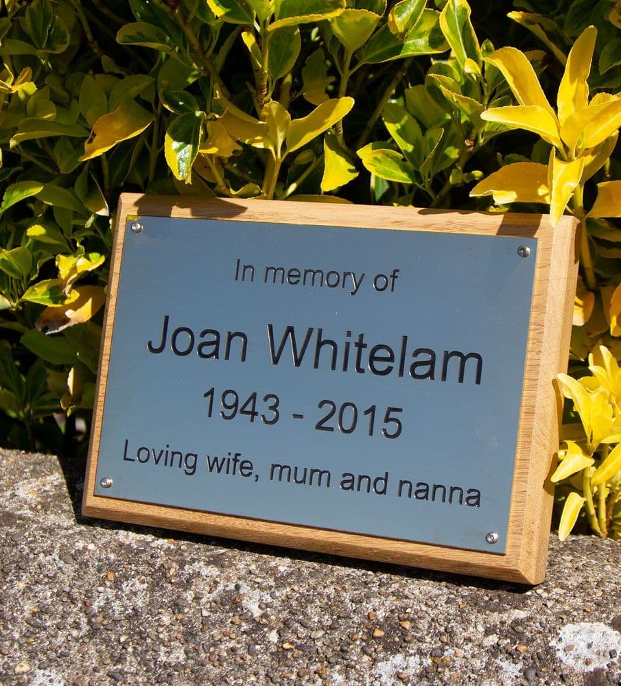1.5mm  Brass Plaque -  STOCK SIZES - FASTER DELIVERY
