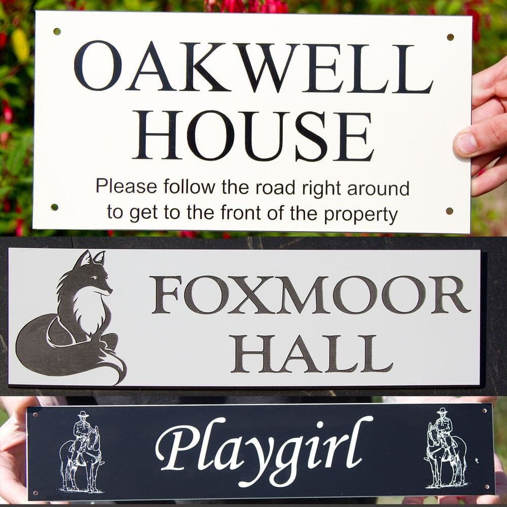 Acrylic Laminate  Plaques (Small Sizes)