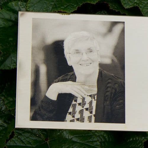 Chemically Etched Brass Photo Memorial