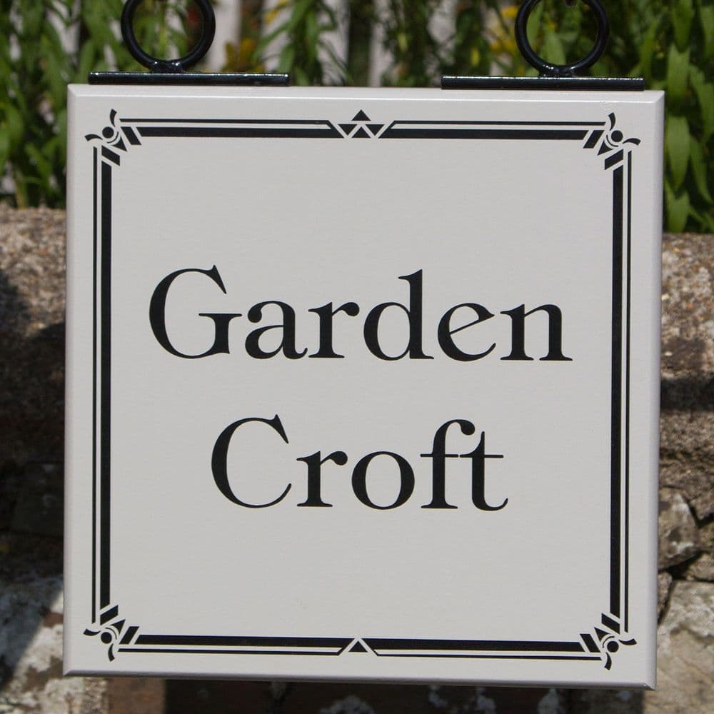 Double Sided Painted  Wooden Signs