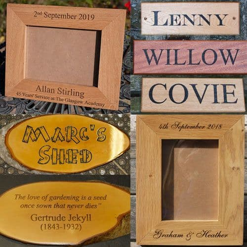 Engraved Wooden Gifts