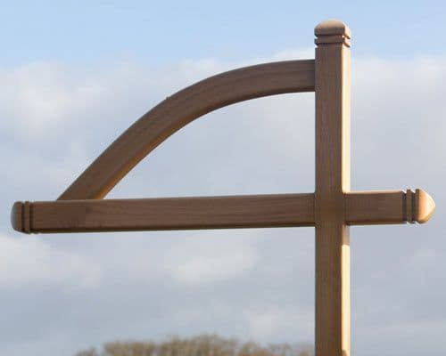 Exmoor Post with Arm