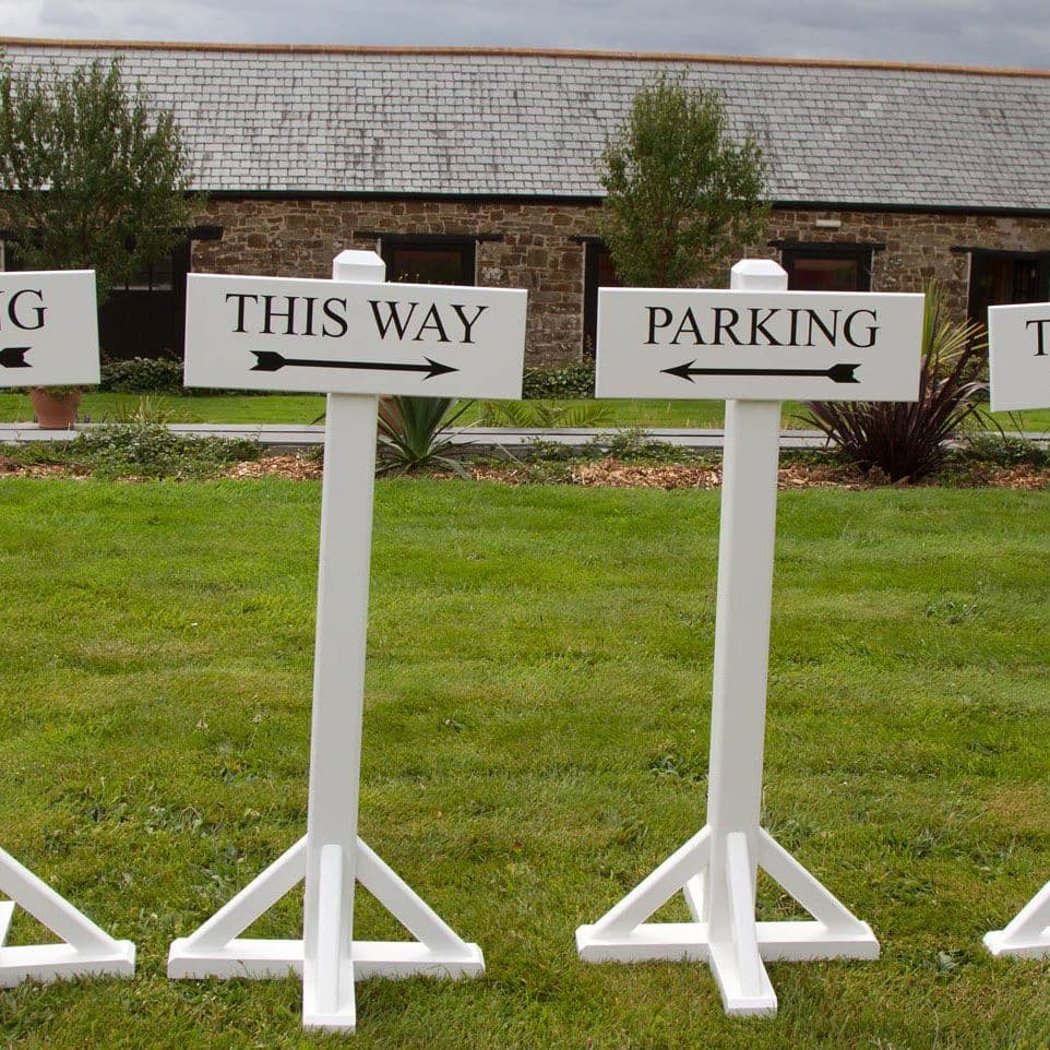 Free Standing Painted Signs