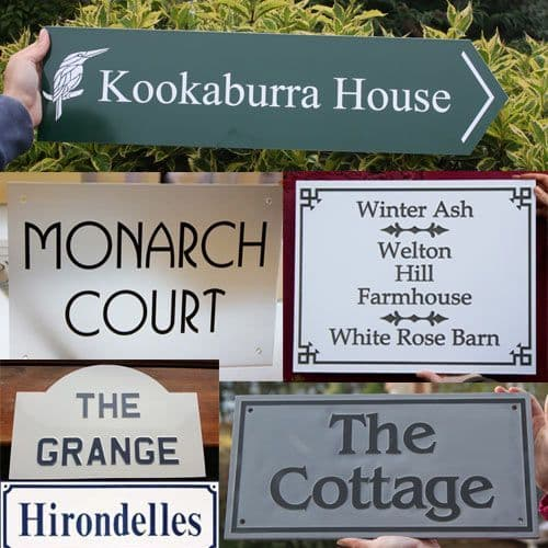 Good Value House  Signs