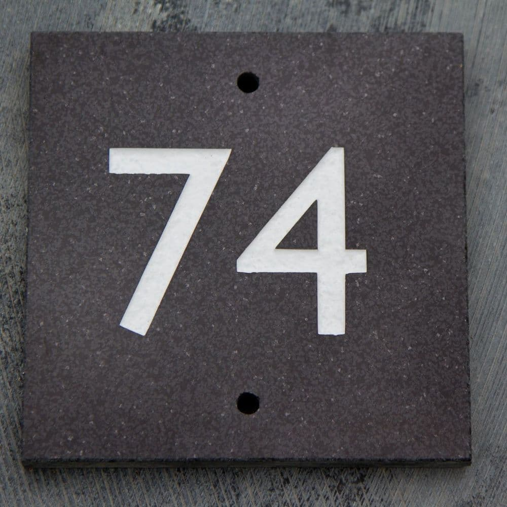 Granite and Marble House Numbers