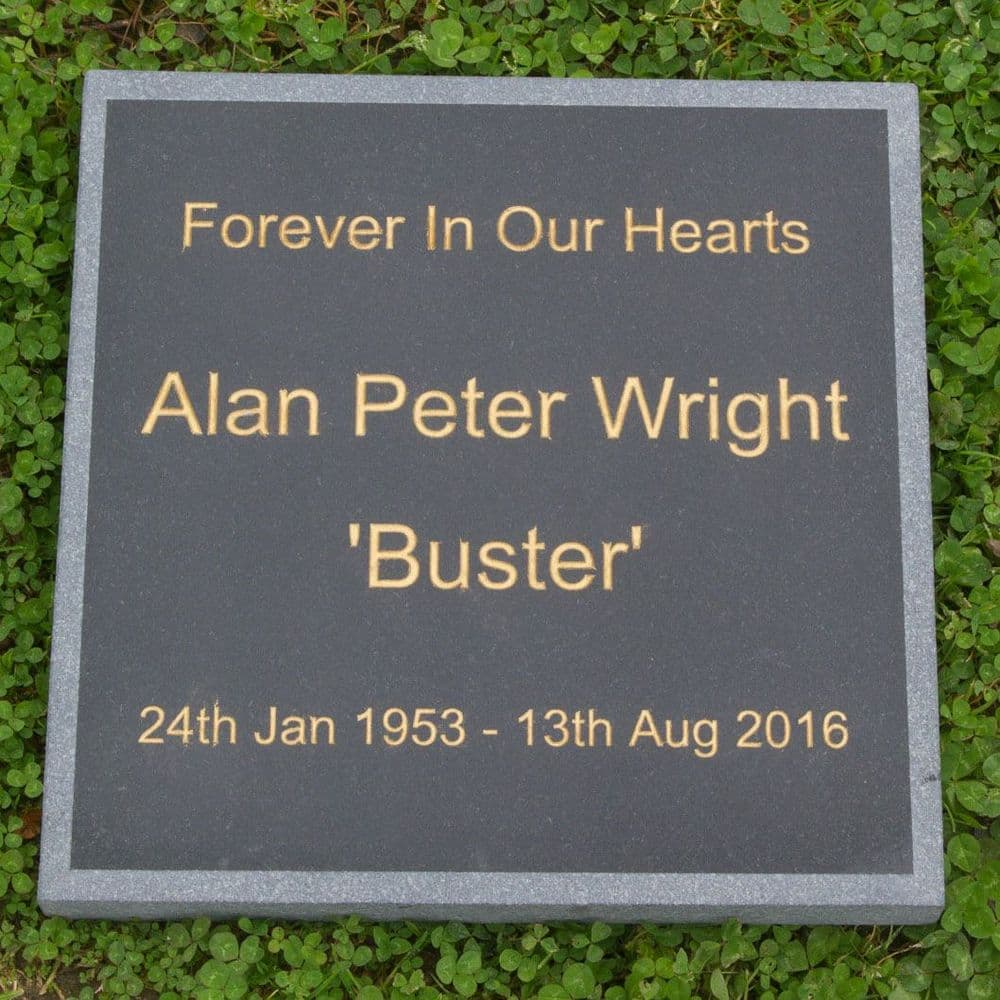 Granite Memorials 20mm thick - Made the way you want