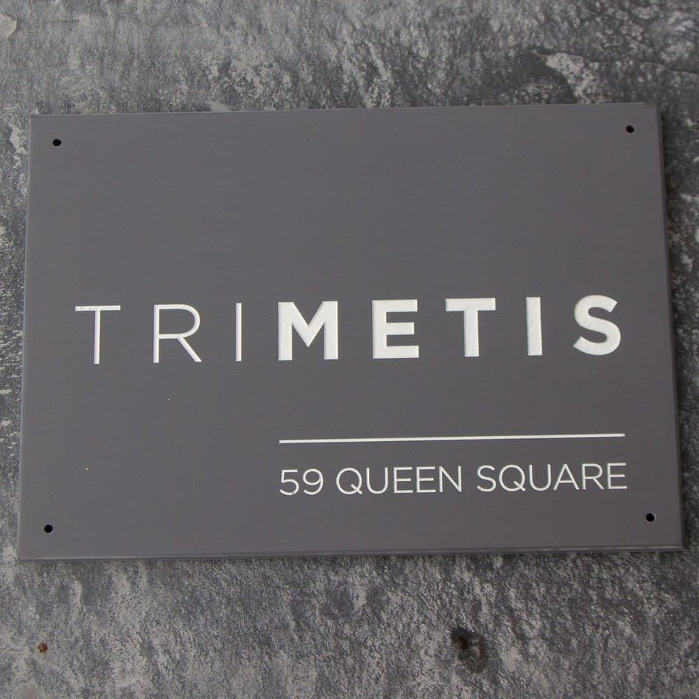Large 12mm Corian Nameplates, Plaques and Signs