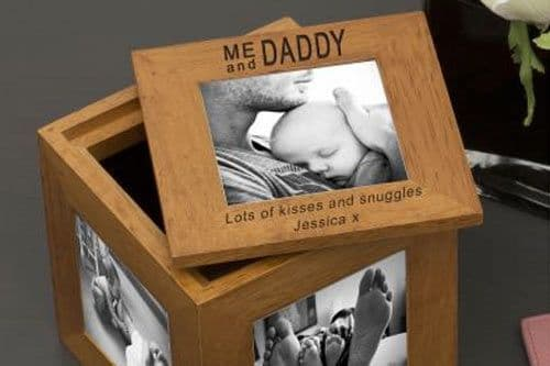 Me and Daddy Oak Photo Box