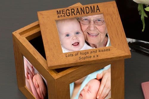 Me and Grandma Oak Photo Box