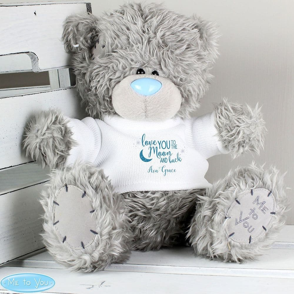 Me to You Teddy Bear - Moon & Back Message