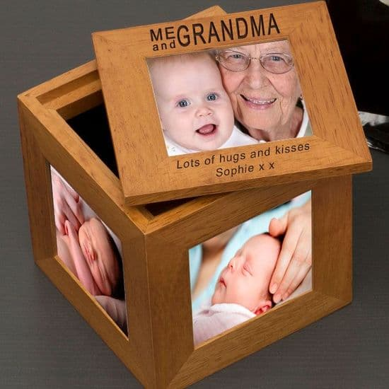 Oak Photo Boxes