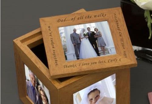 Of all the walks.. Oak Photo Box